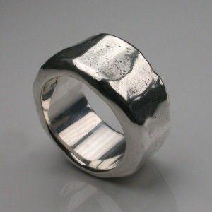 Men's Sterling Silver Rings - Stephen Einhorn London - Mens Jewellery / Men's Jewelry :  male contemporary.