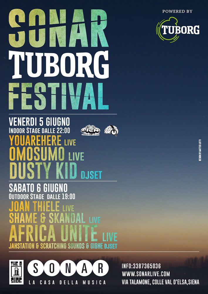 Sonar #Tuborg festival #design #poster x #sonarlive