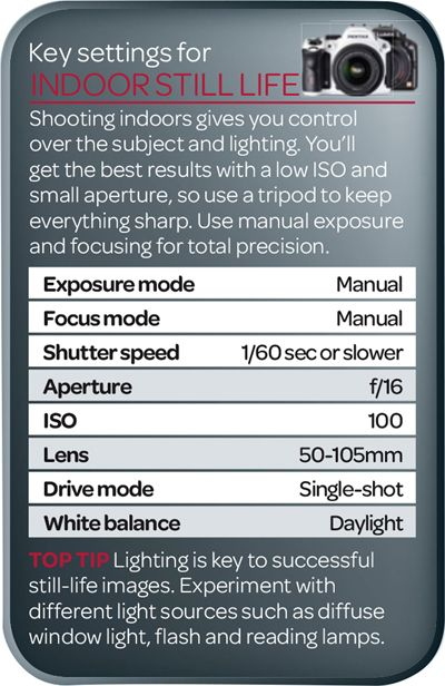 Best camera settings for indoor still life photography | Digital Camera World