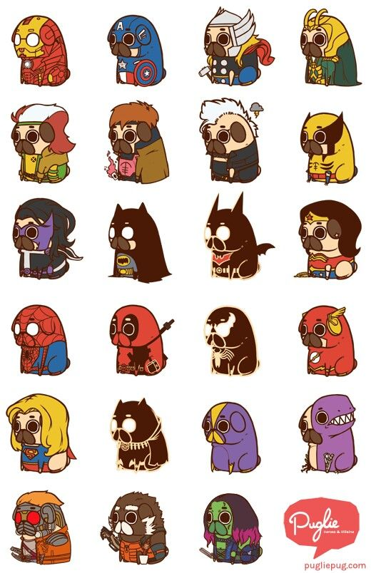 Puglie Heros and Villains
