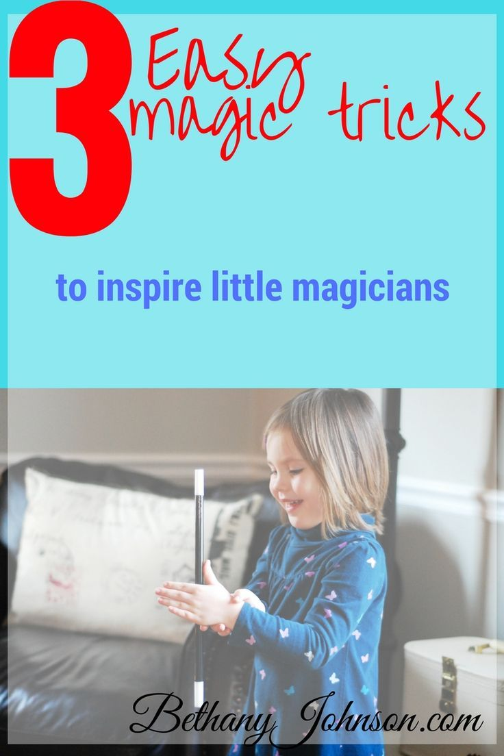 My whole family loves kids magic tricks, but especially my little magician. These magic tricks for kids are so easy they don't require much teaching (or skill) but make a kid feel confident and smart. In fact, it's one of my favorite ways to build confide