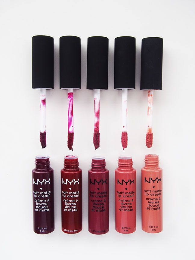 NYX Soft Matte Lip Cream Collection