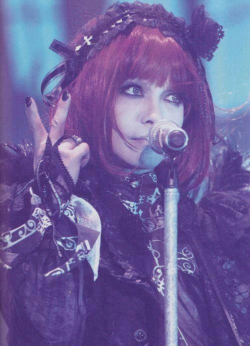 Hyde at VAMPS halloween party (Jerusalem Rod→L'Arc~en~Ciel, VAMPS and solo artist)