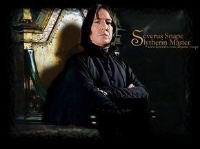 Severus Snape Slytherin Master