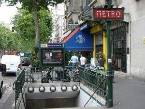 Metro Port de Champerret, Paris