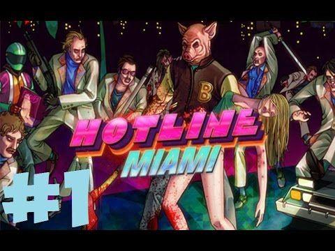 Прохождение Горячей Линии Майами  ► Заказная Резня ►#1