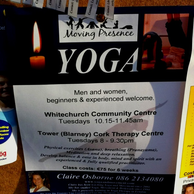 Yoga classes - beginners welcome