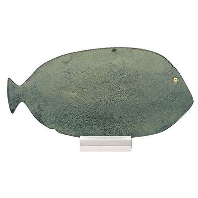 egyptian eye paint Palette in the shape of a fish