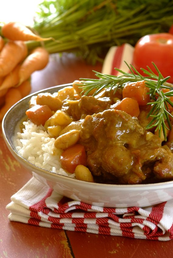 Rich Oxtail and Butterbean #Curry: fabulous winter comfort food!  #KnorrStockPot #oxtail