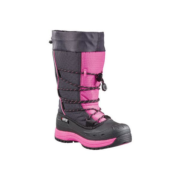 Women's Baffin Snogoose Snow Boot - Charcoal/Hyper Berry Casual ($140) ❤ liked on Polyvore featuring shoes, boots, casual, winter boots, charcoal grey shoes, fake boots, arch support shoes, baffin boots and baffin shoes