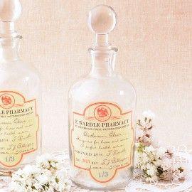 Botella vintage de boticario