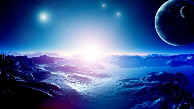 Скачать обои космос, вселенная, звезда, планета, картинки, фото