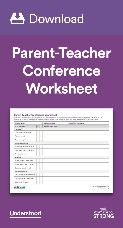 Parent Teacher Meetings - English Meeting Conversation