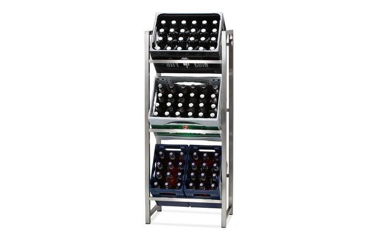 Getränkekistenständer fere. - by Goldau&Noelle von Goldau & Noelle Manufaktur auf DaWanda.com