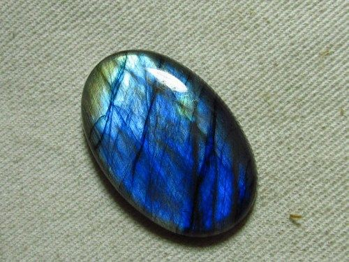 Gorgeous LABRADORITE Strong Multy Fire Oval Cabochon 24x36 mm