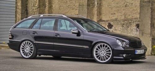 2006er #Mercedes 230 Kompressor erstarkt dank implantiertem #Carlsson-Motor    #tuning