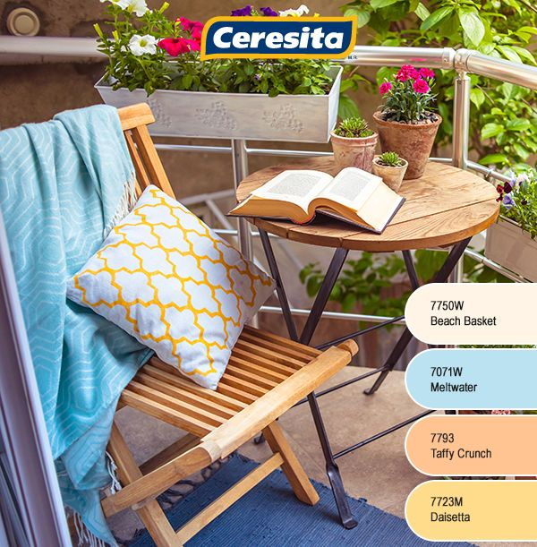 #CeresitaCL #PinturasCeresita #Color #Terraza #Pintura #Tendencia #Estilo #Decoración #Arquitectura #Inspiración #Casa #Hogar #Descanso *Códigos de color sólo para uso referencial. Los colores podrían lucir diferentes, según calibrado de su monitor.
