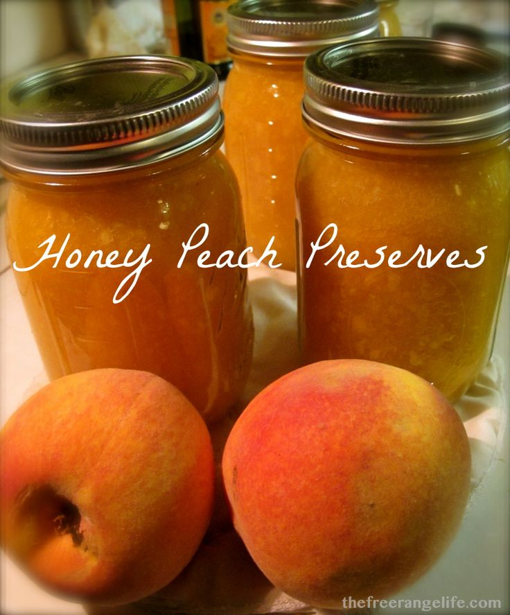 This is a simple recipe- only 3 ingredients that will let you enjoy that great peach taste with a light sweetness all winter long!