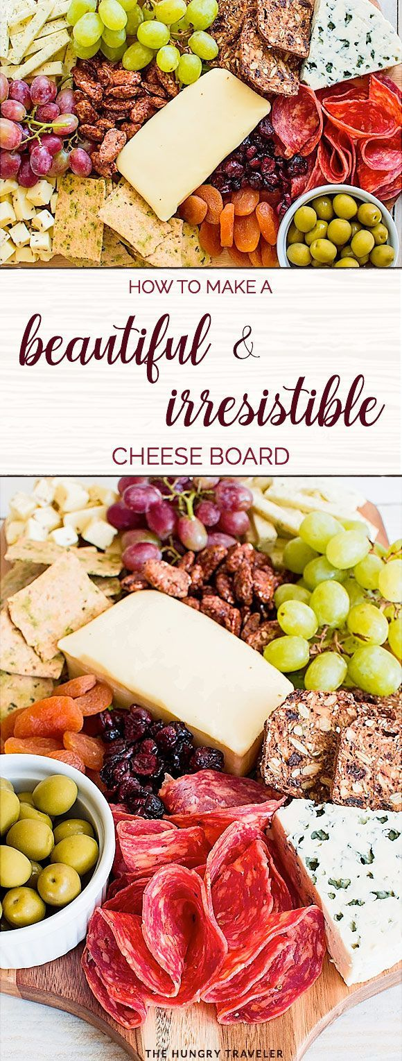 How To Make A Beautiful Cheese Board | Appetizer | The Hungry Traveler