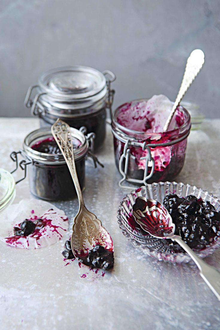 Mermelada de grosella negra y geranio rosa