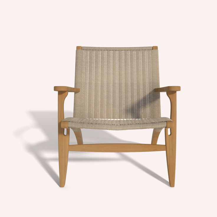 Attractive Coco Mat, Wooden   Lounge Arm Chair Ilios
