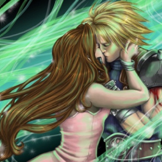 I like Tifa x Cloud more, and Zack x Aerith, but this is ...