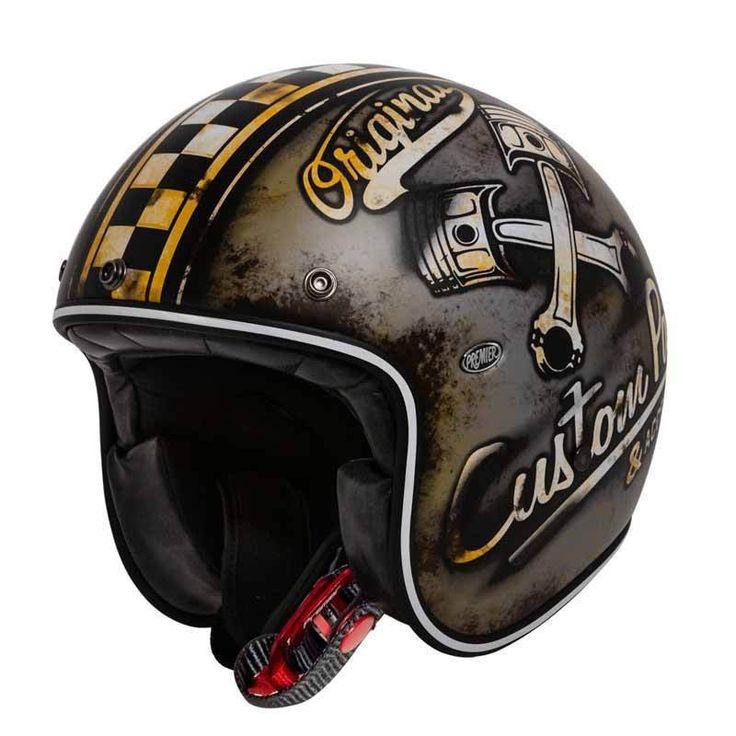 """PREMIER Le Petit Classic """"OP 9 BM"""" - retro open face helmet with ECE standard. More cool retro helmets at our shop."""