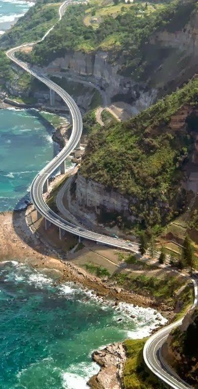 Sea Cliff Bridge New South Wales Australia Wanderlust Pinterest Australia New South