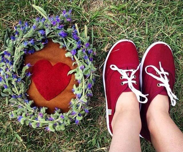 Dámské espadrille/baleríny Oldcom mají jednoduchý a hravý střih. Díky kvalitnímu materiálu jsou produšné, odolné a hodně praktické.  #love #spring #summer #shoes #canvas #nature #colors #flowers #burgund #red