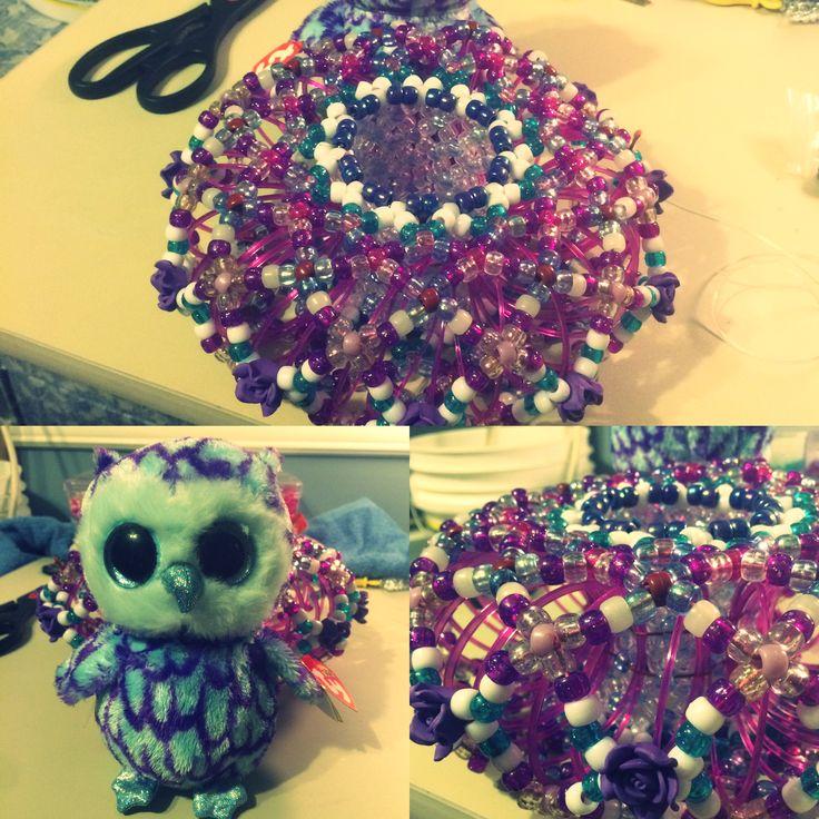 Owl In Wonderland Slinky Cuff