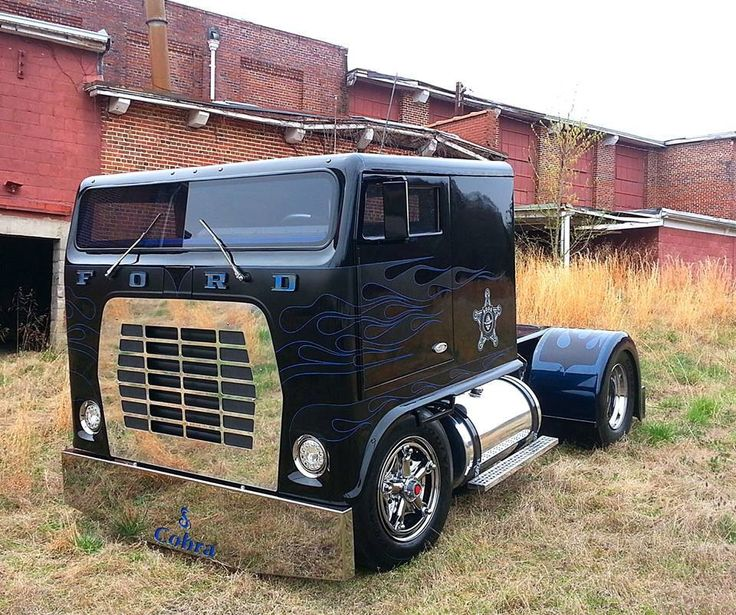 Small Ford Truck: 23 Best Big Rigs Images On Pinterest