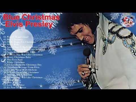 Elvis Presley Blue Christmas Greatest hits || Elvis Presley Christmas Songs (New Christmas 2018) - YouTube