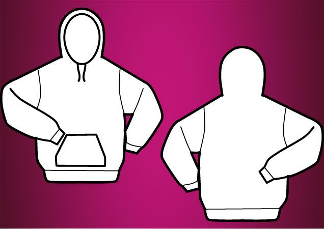 Download Hooded Vector T Shirt Template Eps Hoodie Longsleeve Men Vector Tshirt Template Shirt Template Shirts T Shirt