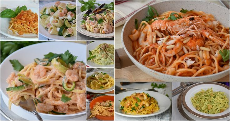 I migliori primi di pesce tante ricette di pasta a base di pesce tutte molto…