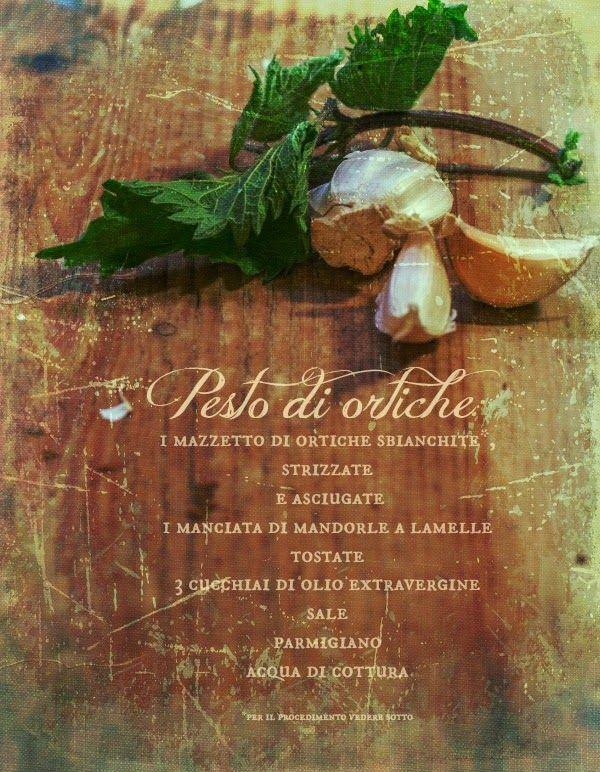 Gnocchi di ricotta alle Ortiche con Pesto di Ortica e Mandorle