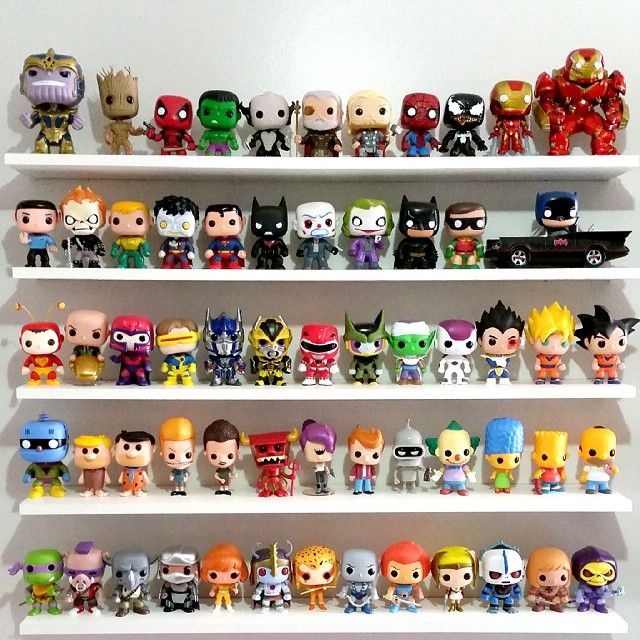 18 Best Funko Pops Display Images On Pinterest Funko Pop