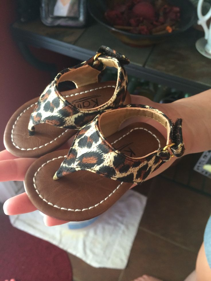Cute baby sandals