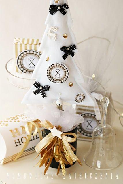 Mimowolne Zauroczenia, Blog, Boże Narodzenie, Choinka z filcu