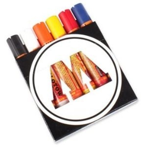 Molotow One4All 227s Short Paint Marker Set - 6 Main Colours from Graff-City