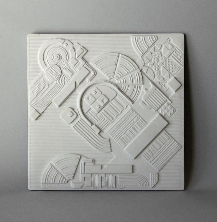 Rosenthal Ltd. Edition Wall Plaque -Eduardo Paolozzi.