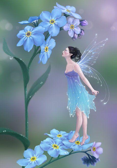 Beautiful Flower Fairy Rachel Anderson