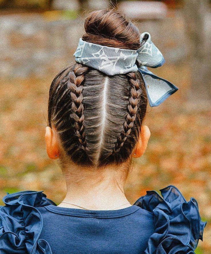 25 Easy Wacky Hairstyles for School Girl, , Hairstyle Ideas #hairstylesforschooleasy