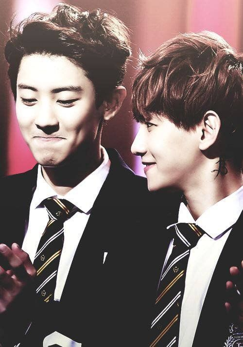 Baeckyeol....<3 They are a pure love I never saw such a perfect pair .. <3