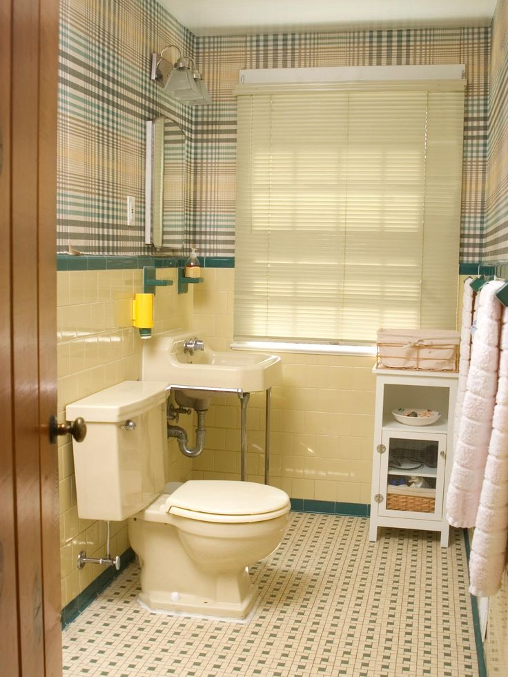 17 Best Decorating Around Old School Bathroom Tile Images On Pinterest Bathroom Tiling 50s