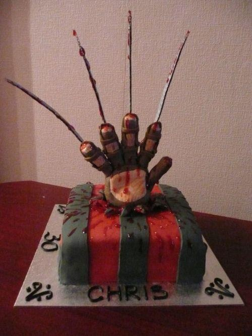 Freddy Cake Neat Eats Cake Horror Cake Halloween Cakes