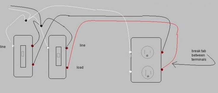 electrical wiring australian rockers in loops and circuits