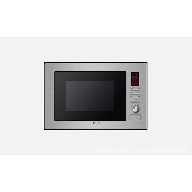 INDESIT Four Micro-Ondes Combiné Intégrable MWI222.1X Inox INDESIT