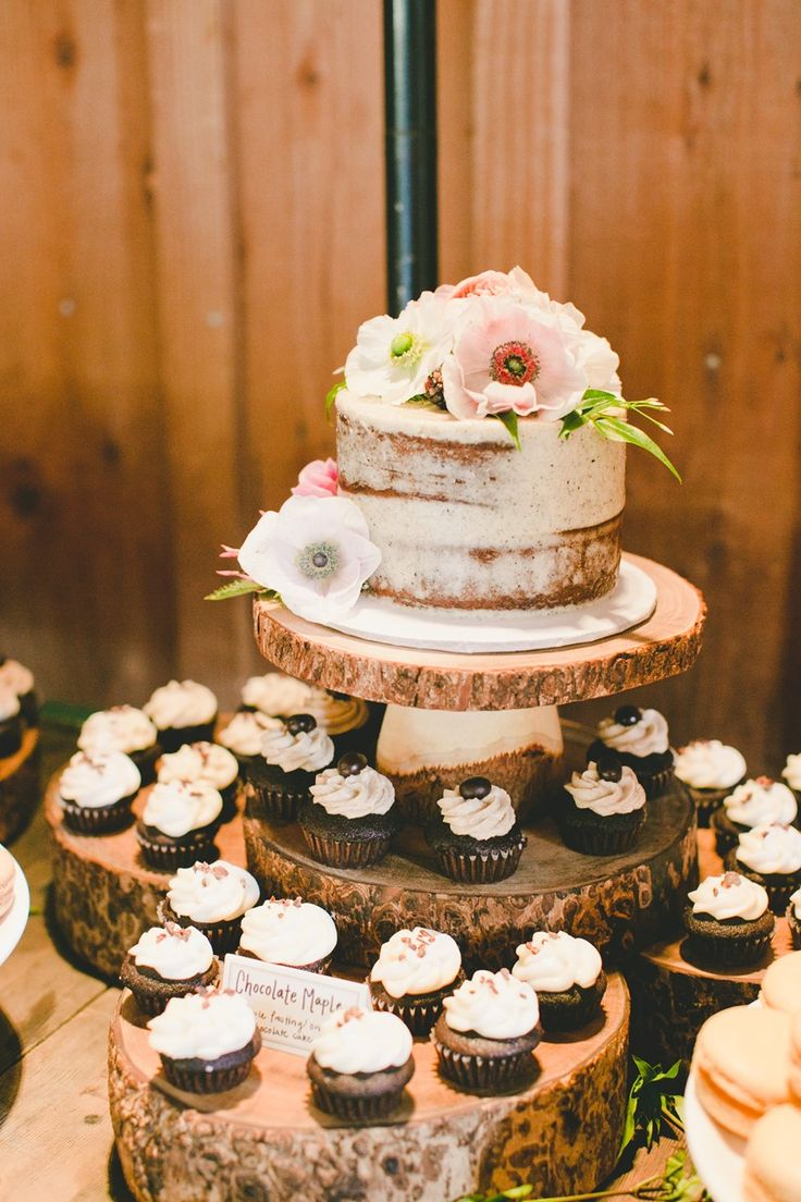 small rustic wedding cake with cupcakes 48102 best creative wedding inspiration images on 20216