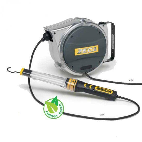 Avvolgicavi ZECA AL47/328 con lampada LED 330 24V