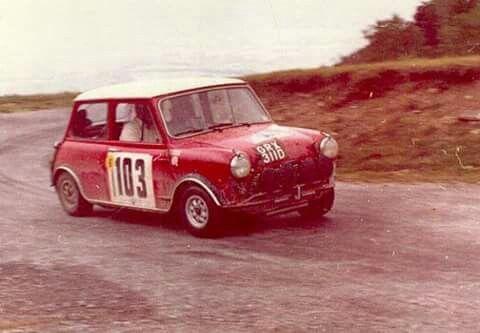 Makinen / Easter , 1967 Alpine rally. Timo Mäkinen RIP 4.5-17.